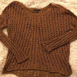 American Eagle crotchet sweater
